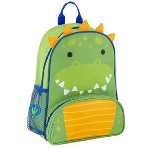 New BACKPACK Boy's Alligator Bag NWT Preschool